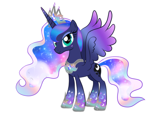 Princess Luna Rainbow Power