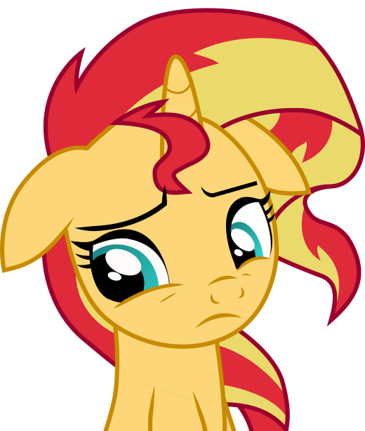 Sunset Shimmer Pony by Pagan-Muffin