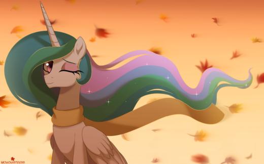 Autumn Wind by MomoMistress