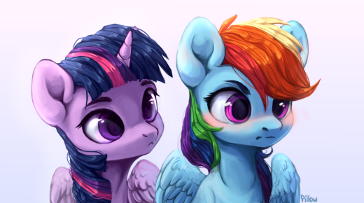 Twilight x Dash by GrayPillow