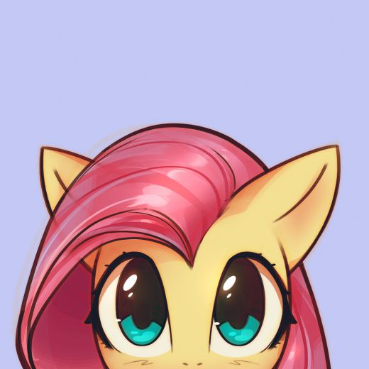 m6Fluttershy by mirrored sea