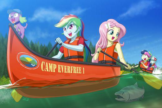 Canoeing by uotapo
