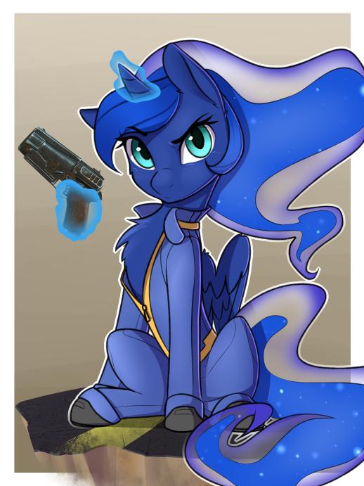 Luna Fo4 by CaptainPudgeMuffin