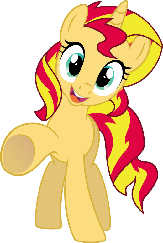 To make you wait. Here is a vector of an adorable Sunset Shimmer, that I forgot since 2 years in my folders