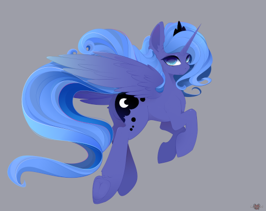 Princess Luna (MLP art) by xSatanielx