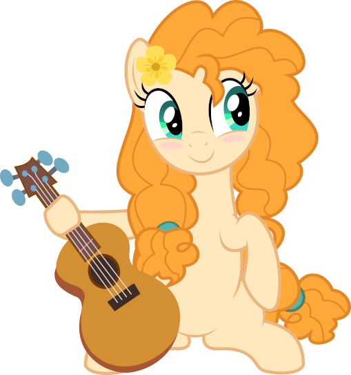 MLP Vector - Pear Butter #7 by jhayarr23