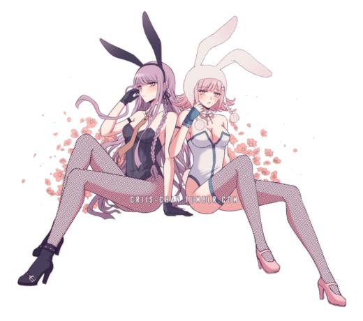 Bunny Chiaki and Kyoko! : danganronpa